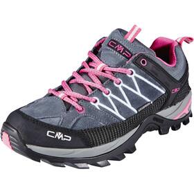 CMP Campagnolo Rigel WP Scarpe Basse Da Trekking Donna, grigio/rosa